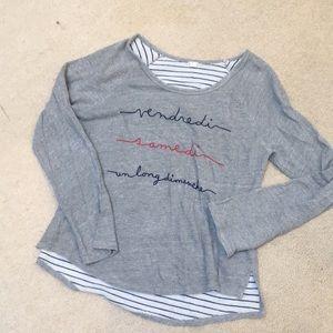 Anthropologie Weekend Sweatshirt